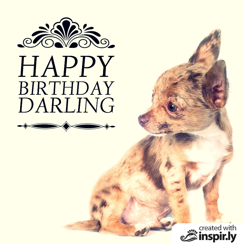 Happy birthday darling-235252